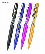 Promotional Pens feather Ballpoint Pen wholesale (Lu-8180)