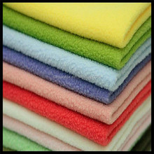 shaoxing wholesale polar fleece fabric for bedspread , home textile