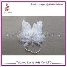 White mini small feather angel wings for decoration feather craft supplies angel wings