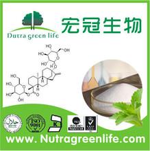 natural sweetener RA60%-RA99% stevia extract for beverage