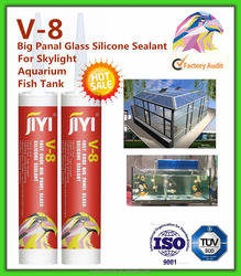 General purpose large big plate glass silicone sealant clear with fast curing and factory price