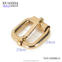 Alloy pin square buckle with metal /factory directly