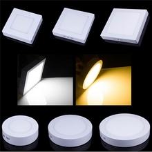 square round panel light 3w 6w 9w 12w 15w 18w 24w 36w 48w 72w led panel light recessed dimmable panel light