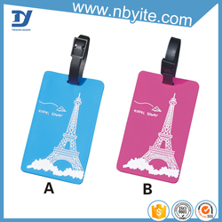 2015 new product pet name tag luggage bag parts