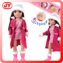 2015 Lovely baby doll american girl doll factory for girl birthday gift with music and IC sound EN71