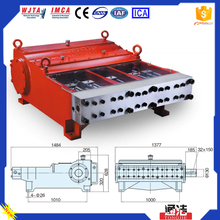 Durable Heavy Duty 248MPA Water Injection Systems Electric Cleaning Machine