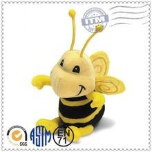 Fast delivery high quality stuffed animal soft toy bee