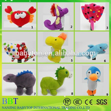 2015 New design funny animals finger puppets