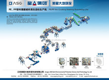 Hot Sale PP PE Film Washing Line/Recycling Line