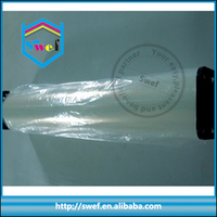 inkjet transparent clear pet film for silk screen printing