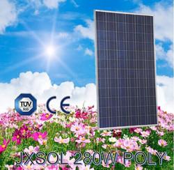 Cheap solar panels, low price 280watt polycrystalline solar panels, made in China