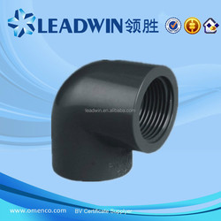 Made in China PN16 PVC Pipe Fitting 90 Degree Elbow