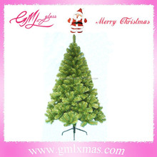 2016 hot sale wholesale charming plastic christmas tree,popular xmas tree in Europe, trade assurance supplier