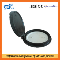 vented manhole cover with locking