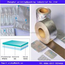 Alu alu pvc pharmaceutical medication blister packaging