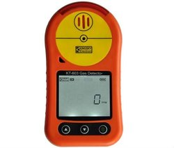 portable methane gas detector with sound light vibrating alarms