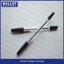 Hotel pen, twist plastic slim ballpoint pen