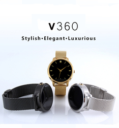 2015 Factory Offer Waterproof Bluetooth v360 Smart GPS Watch mobile phone