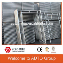 American Type H Mason and Ladder Frame Scaffolding for Building Steel Materials