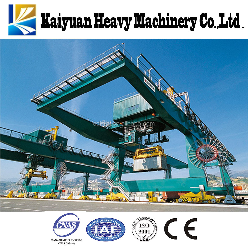 Mobile Crane Rental Malaysia : Mobile container crane with rail for malaysia buy