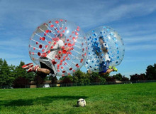 wholesale bubble football with colorful dots