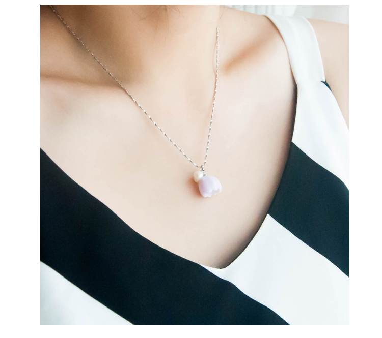 cherry necklace ceramic necklace with cherry pendant wholesale accessory market for most beautiful and fashional accessories  ori-width=