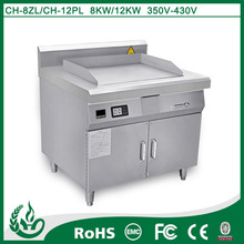commercial use stainless steel electric kitchen steak grill machine