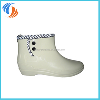 New Women Plain PVC Ankle Wellies