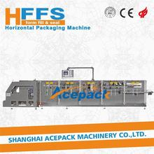 Horizontal Form - Fill - Seal Automatic chocolate fold wrapping machine for flat pouch