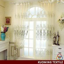 Fashionable professional soft decoration embroidery curtain
