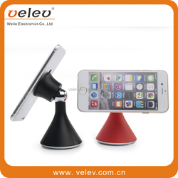 Universal Multiple Suction Cup 360 Rotation Magnetic Mobile Desktop Holder For All Mobile Phone