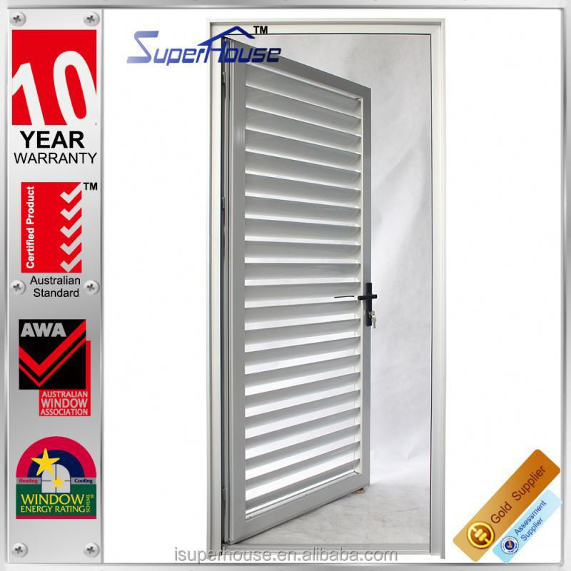 2015 New Arrival Aluminium Exterior Louvered Door Without Fly Net Buy Exter