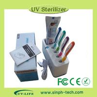 2015 New design household UV toothbrush sanitizer