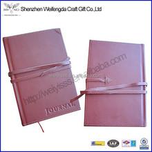 Top Grade Fashion Executive Loose Leaf Fake Leather Journal