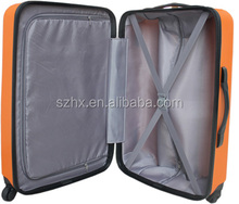 travel plastic trolley hard case for luggage bags