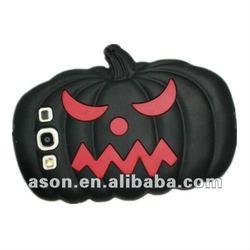 Hallowmas Pumpkin Silicon Case for iPhone