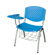 Facoty Design Commercial Furniture General Use Student Chair with Writing Pad