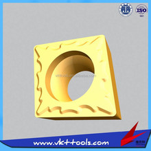 VKT------Hot sale CCMT09T308-TM high quality tungsten carbide inserts end mill CNC