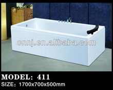 (411) tamaño personalizado profundas bañeras