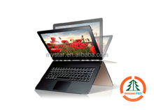 Cheap fashion 13.3 inch touchscreen netbook computer, core M 5Y70 1.1GHz deformable mini laptop