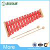 Mini educational toys instrument piano keyboard wood xylophone