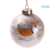 Delicate and Good quality Hand- painted christmas ball