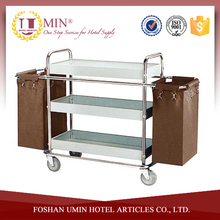 Stainless Steel 3 Tier Service Trolley