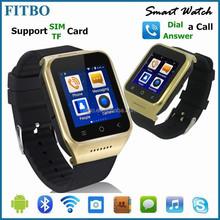 2015 ! Best FM GPS 5.0MP camera 3G CDMA waterproof watch phone