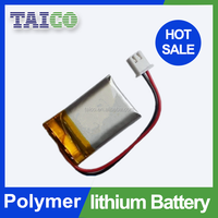 GPS tracker Li-ion Polymer Battery 3.7v 170mah With PCM Made in China