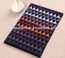 100% modal de largo de lana de moda pañuelo de los hombres