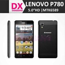 IPS screen Corning II Gorilla Glass 4.0 Inch Black unlocked mobile phone lenovo p780 Android 4.2.1 dual sim camera paypal