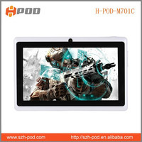 laptops mid pc tablet 7inch dual core q88 high quality 4gb memory oem customize gift box