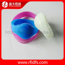 Programmable bracelet rfid silicon tag
