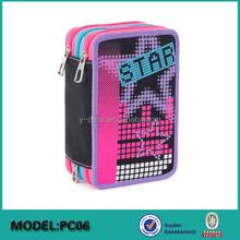 fashion stationery sliding pencil case brands for school kids